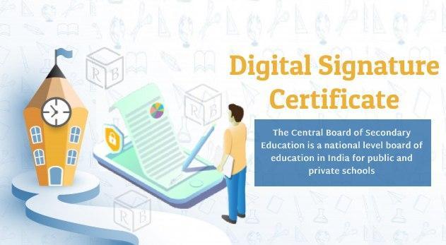 Digital Signature for CBSE Affiliated Schools